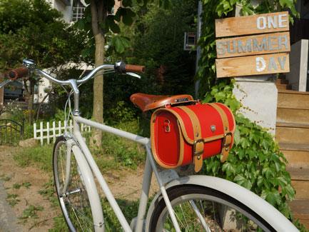 프레피_레드(L)*자전거가방/사이즈3가지*