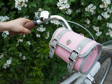 프레피_핑크(L)*자전거가방/사이즈3가지*